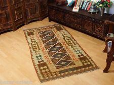 197x98 cm orient Teppich Afghan Turkmen Nomaden Planzenfarbe kelim kilim No:29