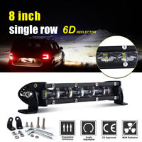 7inch 90W Barre LED Rampe Light bar phare de travail 12V 24V SUV ATV 4x4 Offroad
