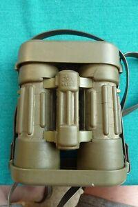 Rare Vintage Carl Zeiss Dialyt 8 X 30 B Rubber Safari Binoculars & Caps 1130618