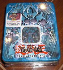 YuGiOh Raviel Lord of Phantasms 2006 Factory Sealed Secret Rare Limited Tin Box!