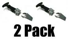 (2) HOOD HOLD DOWN LATCH KIT Door Lid Strap Hatch for Luggage Container Tool Box