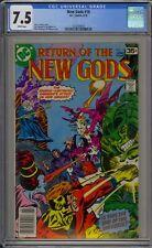 NEW GODS #18 - CGC 7.5 - 1625929016