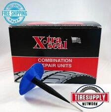 "XtraSeal 13-674 Large 3/8"" Patch Plug Combo Tire Repair (24 Piece) Lead Wire"