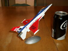 F-16 FALCON FIGHTER - U.S. AIR FORCE, DIE CAST METAL TOY PLANE, LENGTH IS: 7.5""