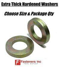 Choose Size Extra Thick Flat Washers Sae Grade 8 Hardened Washers Mcx Mil Carb