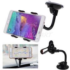 Guscio Supporto Ventosa Auto Cellulari GPS Holder per iPhone Samsung Galaxy HTC