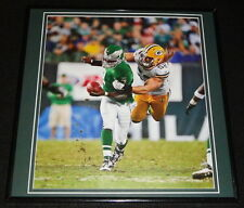 Clay Matthews vs Michael Vick Framed 12x12 Poster Photo Packers Eagles