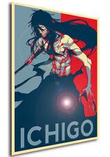 Poster Propaganda - Bleach - Ichigo Kurosaki Variant 01