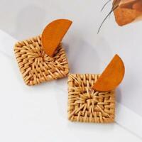 Handmade New Fashion Designed Environment Friendly Wood/Bamboo/Rattan Earrings