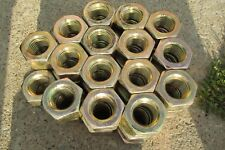 """LOT OF (8) - SFC GRADE 8 YELLOW CODED COURSE THREAD HEX NUTS - 1 1/4""""!"""