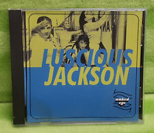 Luscious Jackson Naked Eye CD Single Radio Edit Totally Nude Mix Instrumental
