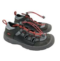Keen Zorb Youth Big Kids Shoes Sandals Sz 3 Bungee Red Black Gray Hiking Outdoor
