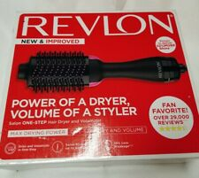 NEW Revlon One-Step Hair Dryer & Volumizer Hot Air Brush RVDR5222 OPEN BOX