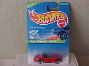 Hot Wheels 1996 Treasure Hunt Dodge Viper Red