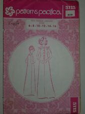 Denim Cotton Dress Sewing Pattern 6-16 Sewing Pattern Pacifica 3113 VTG 70's