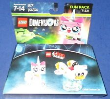 Lego Dimensions -The Lego Movie- Unikitty + Cloud Cuckoo Car *New-Free Shipping!