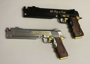 Pair Devil on May a Cry Dante Ebony & Ivory Foam Gun Pistol Cannon Prop Cosplay