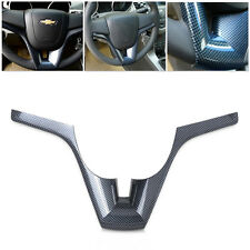 Carbon Fiber Steering Wheel trim For 2008 2009 2010 2011 2012 Chevrolet Cruze