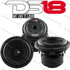 "DS18 Elite Z8 8"" Subwoofer Dual 4 Ohm 900 Watts Max Bass Sub Speaker Car"