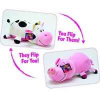 """FlipaZoo Pig to Cow 16"""" Transforming Plush Toy As Seen On TV Ruby Piglet Sofie"""