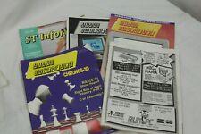 5 Atari ST Informer Interface  1991 - 1992 Magazine Computer Games Lynx