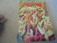 Vintage Book Zane Grey's The Last Trail with dust jacket