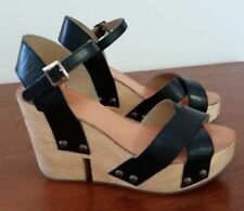 Buckle Platforms & Wedges Party Heels for Women