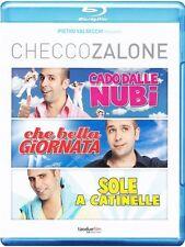 Checco Zalone Trilogia (3 Blu-Ray) Cofanetto Nuovo