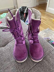 Girls Sorel Snow Boots Size 8