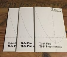 1-Texas Instruments TI-84 Plus Silver, Graphing Calc. Instruction Manual Only