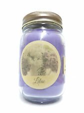 Lilac Blossom 16oz Country Jar Soy Candle Wholesale Scented Candles