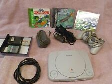 Sony Play Station One  SCPH-101 Includes Controler, cables,3 memory card 3 Games