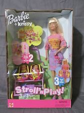 Brand New RARE Barbie and Krissy Stroll 'n Play 3-in-1 Fun 2001 Mattel 50964
