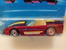 HOT WHEELS - SPEED FLEET - NEW MODEL - CUSTOM CORVETTE CONVERTIBLE - DIECAST