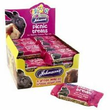 Johnsons Picnic Treat Seed Mix Enriched with Honey for Rabbit Guinea Pig 1 x Bar