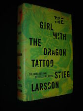 THE GIRL WITH THE DRAGON TATTOO Stieg Larsson 1st Edition/First Printing HC 2008