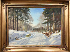Harald Pryn 1891-1968 (Danish) SIgned Oil Painting