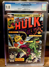 Incredible Hulk #260 CGC 9.8 1981- Death of Glenn Talbot, Teen Brigade Cameo