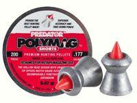 JSB Predator Polymag Shorts .177 cal 4.50 mm cal. 200 pcs 8.02 gr airgun pellets