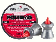 JSB Predator Polymag Shorts .177 cal 4.50 mm cal. 200 pcs 8.02 gr airgun pellets