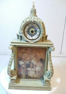 The Danbury Mint Pope John Paul II Collectors Clock