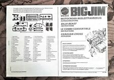Big Jim Baja Beast Camper instructions