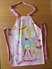 Childs Pink Fairy PVC Coated Apron