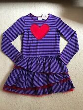 Hanna Andersson Girls Tulle Ruffle Dress 140 9 10 11 years old New !