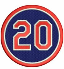 FRANK ROBINSON #20 PATCH MEMORIAL INDIANS VERSION REDS INDIANS GIANTS NATIONALS