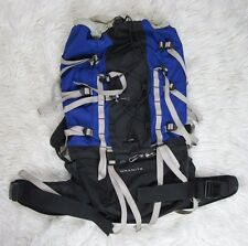 The North Face Internal Frame Hiking Backpack Med Model Granite Back Pack Blue