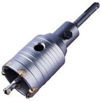 50mm Core Drill Bit Heavy Duty Construction Brick Masonry Stone Pipe Pilot SDS