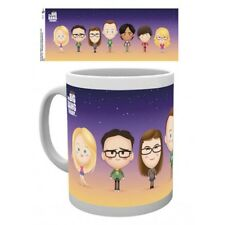 GYE MUG TAZZA IN CERAMICA BIG BANG THEORY CHARACTERS NEW NUOVA