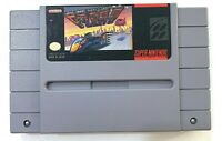 F-ZERO Super Nintendo SNES Game TESTED Working & AUTHENTIC