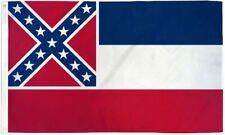 """New listing 2 x """"Mississippi"""" 3x5' ft flag Dura nylon state Ms pride us"""